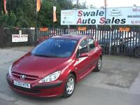 2002 PEUGEOT 307 LX 1.4L ONLY 96,814 MILES, IDEAL 1ST CAR IN GREAT CONDITION