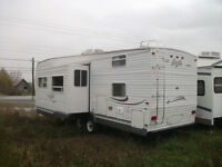 2003 27 ft Eagle by Jayco 5th wheel