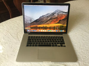 2013 Macbook Pro 15.4 inch 1 TB SSD 16 GB RAM 2.6 GHz i7 Maxed