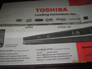 Brand New Toshiba SD4200 DVD player for sale - never out of box