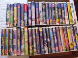 Kids VHS Assortment (41 Titles)