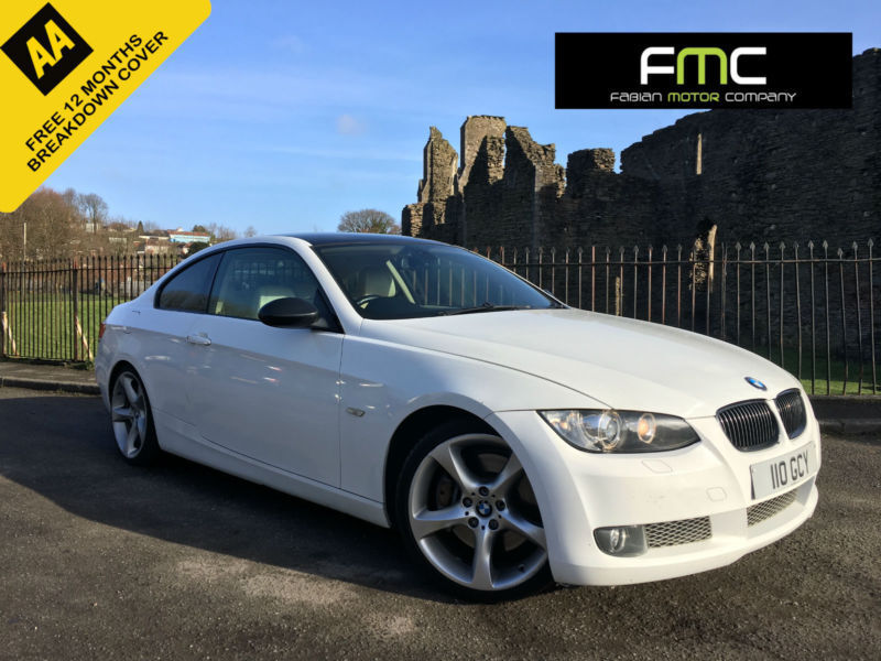2007 BMW 335d auto Coupe **White - Xenons - Leather - Remapped