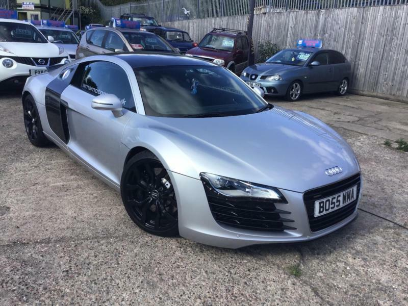 Audi R8 4 2 Quattro Quick Silver Exhaust With V10 Tips Carbon In