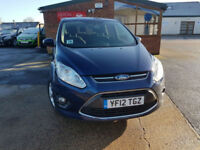 2012 Ford C-MAX 1.6 ( 105ps ) PETROL Zetec PX WELCOME