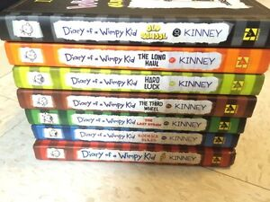 Part Collection of Diary of a Wimpy Kid