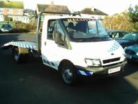 2002 FORD TRANSIT 2.4 DIESEL T350 TRANSPORTER RECOVERY TRUCK