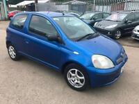 Toyota Yaris 1.0 VVTi Blue Colour Collection ~ 02/52 ~ ONLY 92K ~ LONG MOT