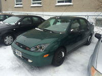 2002 FORD FOCUS AUTOMATIQUE**CUIR TE TOIT**