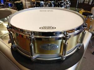 Pearl free floating 14x5 Brass Snare-caisse claire - used-usagée