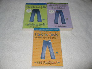 THE SISTERHOOD OF THE TRAVELING PANTS - ANN BRASHARES - CHECK IT