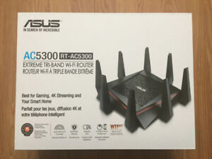 ASUS AC5300 RT-AC5300 Extreme Tri-Band Wi-Fi Router