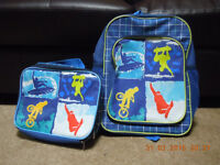 Kids back pack and lunch bag ( new)