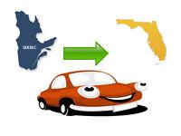 transport auto pour la Floride snowbird driving car service