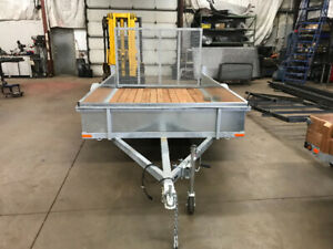Galvanized Utility trailers and haulers