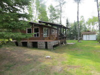 Lake View Cabin with Beautiful Sunsets - on site Boat Dock