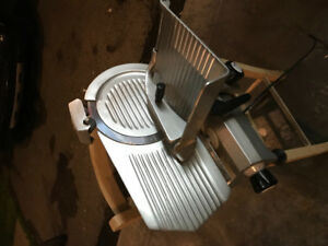 "OMCAN MEAT SLICER 12"" mint condition"