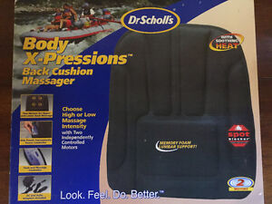 *New in box* Dr. Scholl's Body X-Pressions Back Massager