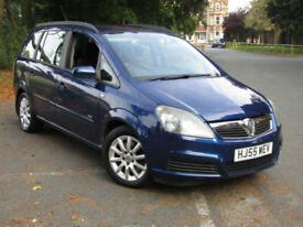 Vauxhall Zafira 1.9CDTi Club**7 SEATER CARS**ONLY 41,000 MILES**PSH**