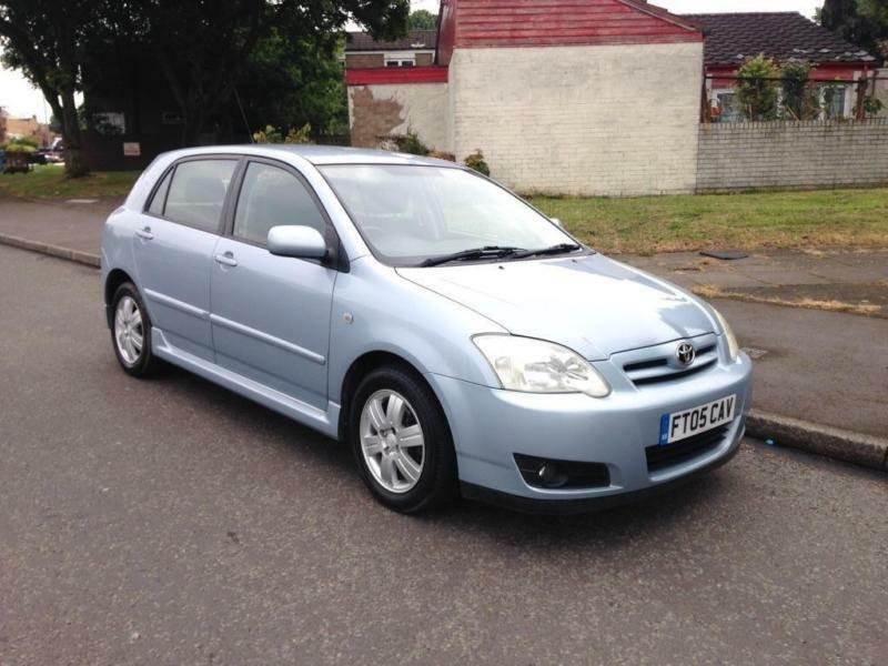 2005 Toyota Corolla 1 6 Vvt I Colour Collection 5dr In