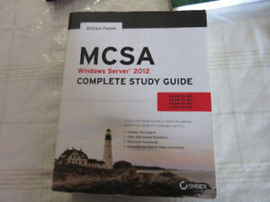 MCSA Windows Server 2012 Complete Study Guide by Sybex
