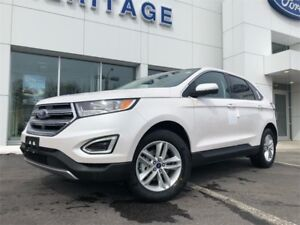 2018 Ford Edge SELSAFE & SMART PACKAGE ! PANORMAIC MOON ROOF !!