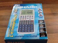 Sharp, Graphing calculator.