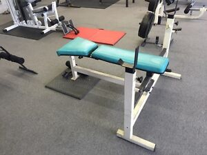 Olympic weight bench.