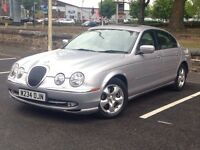 2000 (Jun W) JAGUAR S-TYPE 4.0 V8 -Saloon 4 Dr - AUTO - Petrol - SILVER*1 OWNER/FULL MOT/V LOW MILES