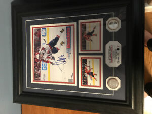 Signed Ovechkin photo