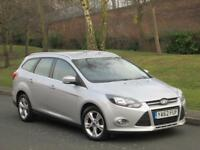 Ford Focus 1.6TDCi ( 105ps ) ( 99g ) ECOnetic 2013 Zetec 1 OWNER + FSH + 2 KEYS