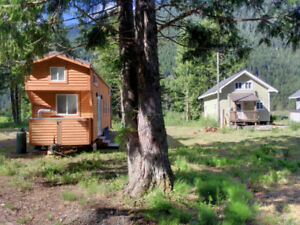 Tiny Home or Cabin Building Lot for Sale near Hope, BC - H112