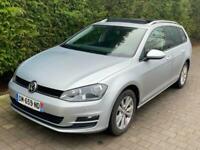 2015 Volkswagen Golf 1.6TDI ( 110ps ) BLUEMOTION 70k Miles French Reg LHD