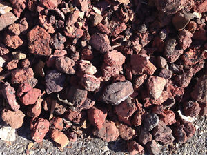 Red Lava Rock - ***CLEAN***