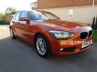 BMW 1 SERIES 116d EFFICIENTDYNAMICS BUSINESS (orange) 2014