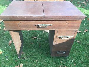 Old sewing machine stand Belleville Belleville Area image 1