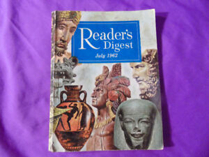 Reader's Digest July 1962 Magazine
