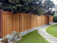 Fence  & Deck & Sod-No Payment till Completed