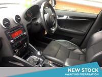 2011 AUDI A3 2.0 TDI 170 Black Edition 5dr S Tronic [SS]