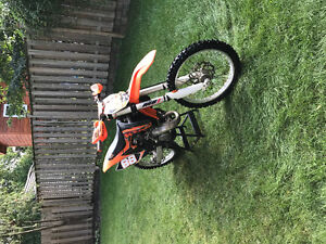 KTM 150SX - 2014 -  Low hours, Like new bike. Must See