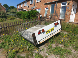 Car trailer 195cm x 152cm bed