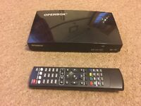 OpenBox V8S freesat box with all channel access for 10mnths