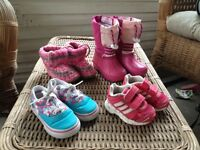 Baby girl boots slippers and shoes