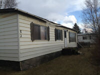 Double wide mobile home for sale Price reduced for quick sale