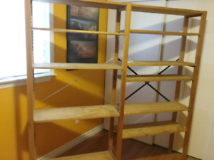 Ikea adjustable shelves