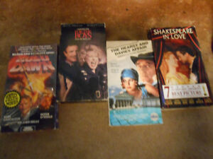 Priced to Sell!  VHS movies