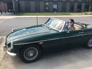 Classic 1969 MGB Roadster Fully Restored