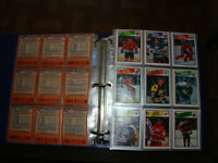 cartes de hockey opc 1988-89