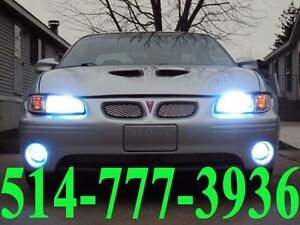 PONTIAC KIT HID XENON CONVERSION LED CAR HEADLIGHTS INSTALLATION