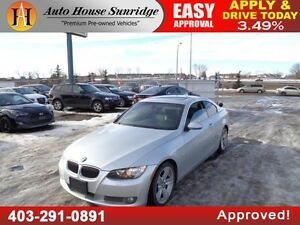 2007 BMW 3-Series 335i Coupe Leather  Sunroof 90DaysNoPmnt