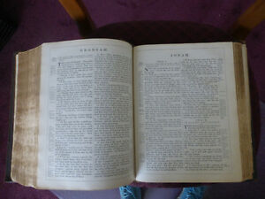 Pulpit Bible - 1870 - Printed by Oxford University Press Kitchener / Waterloo Kitchener Area image 4